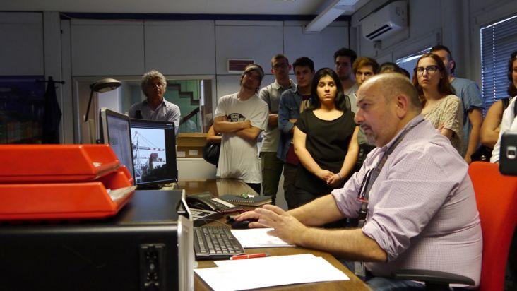 Sala controllo - Autorità portuale di La Spezia